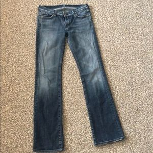 Jeans: 7 for all mankind